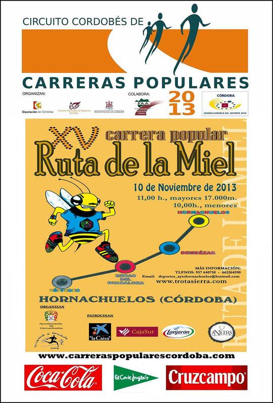 "XV CARRERA POPULAR ""RUTA DE LA MIEL"" - (10 de Noviembre de 2013) - Haz ""clic"" en la imagen para ampliar."