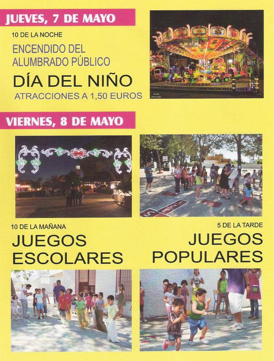 """Programación """"FERIA DE SAN ISIDRO 2015"""" en MESAS DEL GUADALORA. - Haz """"clic"""" en la imagen para ampliar."""
