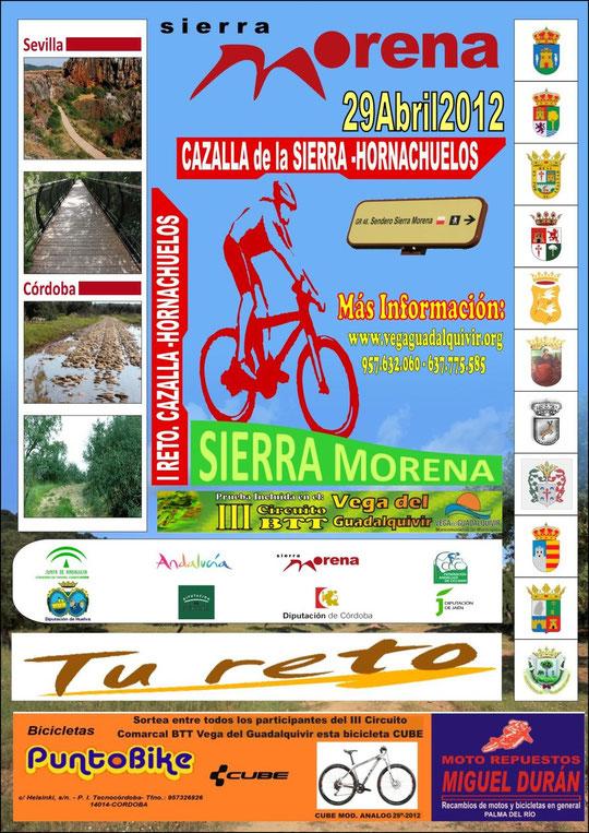 """I Reto BTT """"Cazalla de la Sierra-Hornachuelos"""". - Día 29 de abril de 2012. - Haz """"clic"""" en la imagen para ampliar."""