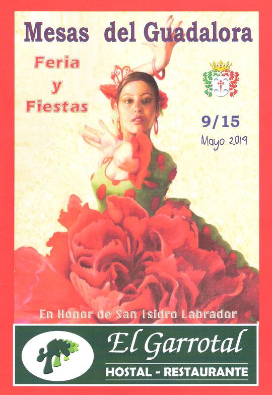 """Cartel """"Feria de San Isidro Labrador 2019"""" en MESAS DEL GUADALORA. - Haz """"clic"""" en la imagen para ampliar."""