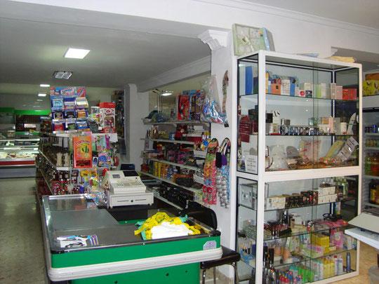 """Supermercado COVIRAN """"HNOS. CASTELLANO"""" en Mesas del Guadalora."""