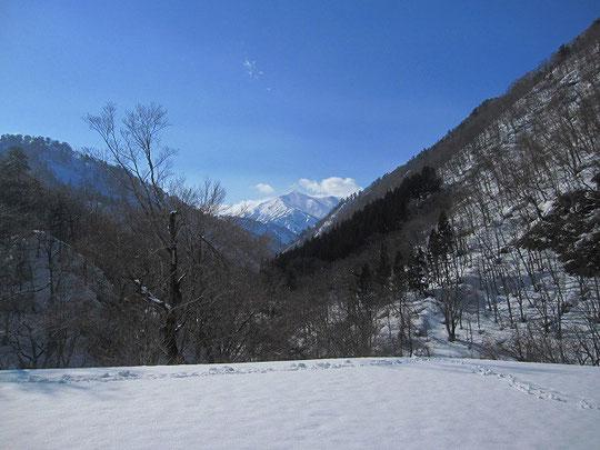 3月の大朝日岳