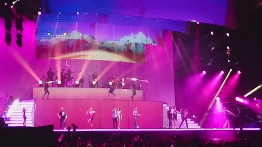 26.09.2015 Celina ein Großer Wunsch erfüllt. Violetta Konzert in Stuttgart!