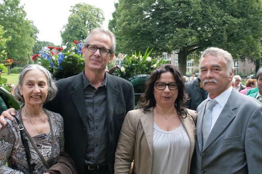 Grace ,Herman,Nicole,Eric Bij de Herdenking van de Doden aan de Birma en PakanBaroe Spoorweg..