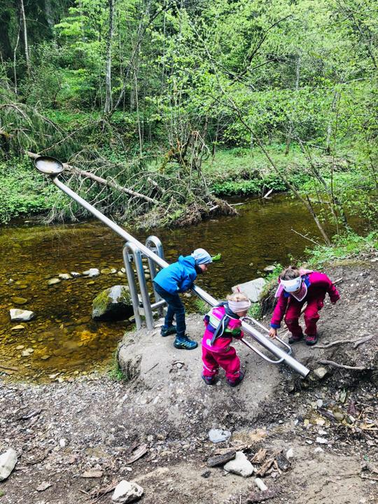 Ausflug zum Wasserweg Durach mit Kindern