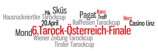Wordle zum 6.Tarock-Österreich-Finale