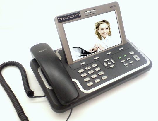 Videotelefon rexfon 530 von rexincom. Videotelefonie mit Premium-Kommunikation