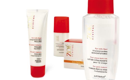 ZOE - Revital - Pflegelinie - für die reife Haut - Packaging - Design - DesignKis - Syndicate - 2006 - Verpackung