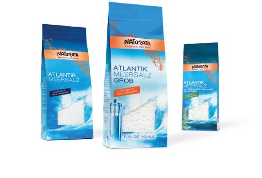 NATURATA - Atlantik - Meersalz - Ralaunch - Packaging - Design - DesignKis - 2012 - Verpackung