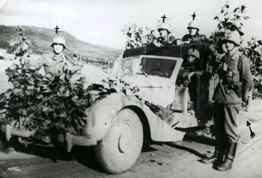 Adjudant-Chef Engelbert du 1er Bataillon du 1000ème Régiment de Sécurité.