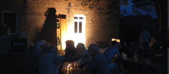 Dörfliche Idylle hinterm Jugendheim (aus unserem Fotoarchiv 2012)