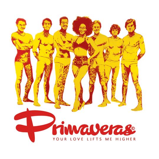"""""""The Primaveras"""" / Illustration d'une jaquette de 45 tours /  Kinder-k 2012"""