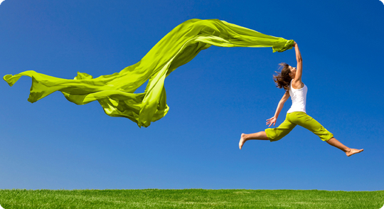 Balance, Leichtigkeit, Vitalität durch Reconnective Healing