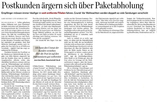 Hamburger Abendblatt vom 23.11.2019, Seite 9