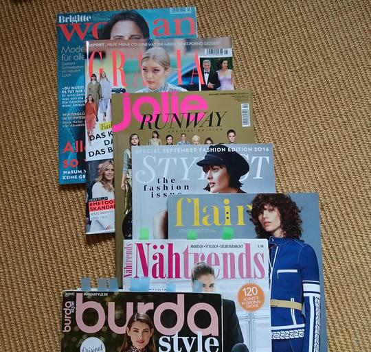 """Inspiration in Modemagazinen zum Thema """"Wie finde ich meinen Stil?"""" © GriseldaK 2018"""