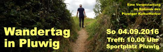 Wandertag in Pluwig 2016, Pluwiger Kulturherbst
