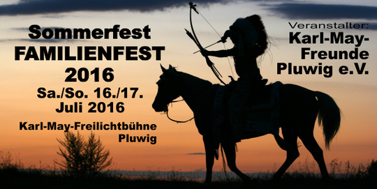 Pluwig, Karl-May-Freunde, Sommerfest-Familienfest 2016