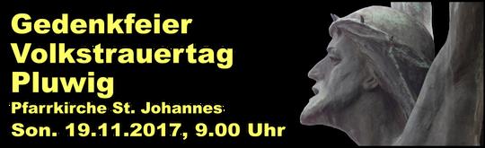 Volkstrauertag, Pluwig,2017,Foto/Grafik: Theophil Schweicher
