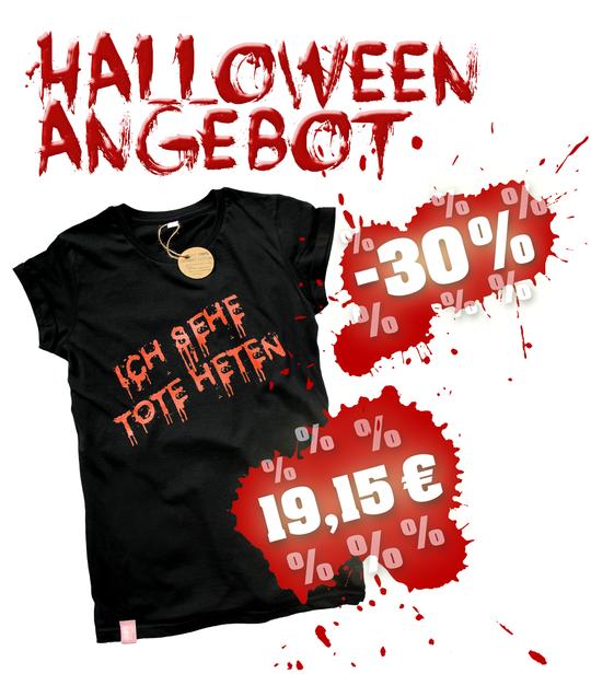 HALLOWEEN ANGEBOT - SHIRT - -30% - SALE - 19,15 EUR anstatt 24,90 EUR