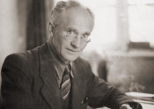 Hanns Heinen im Kreuzthal, 1945