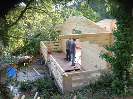 Maison bois massif Uriel 73 m²