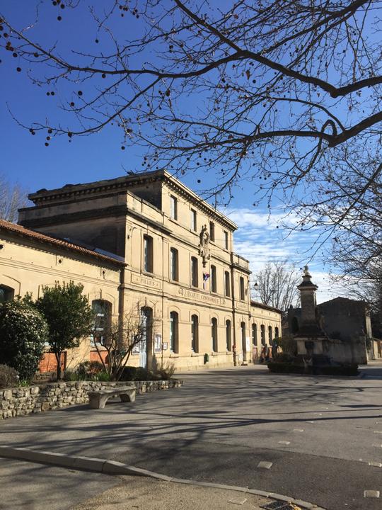 Eyguières École primaire Gabriel Péri