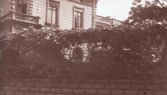 Die Villa Neufeldt in Elbing um 1904