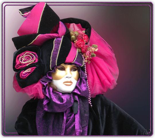 Karneval in Venedig - Rahmen