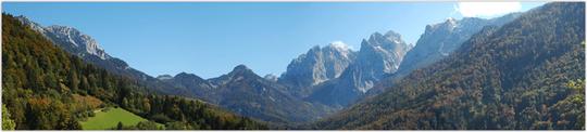 Herbstanfang im Kaisergebirge