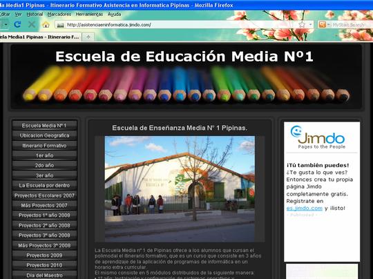 Blog E.E.M.Nº1 Pipinas