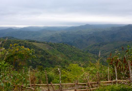 Der Norden von Laos - Berge so weit das Auge reicht