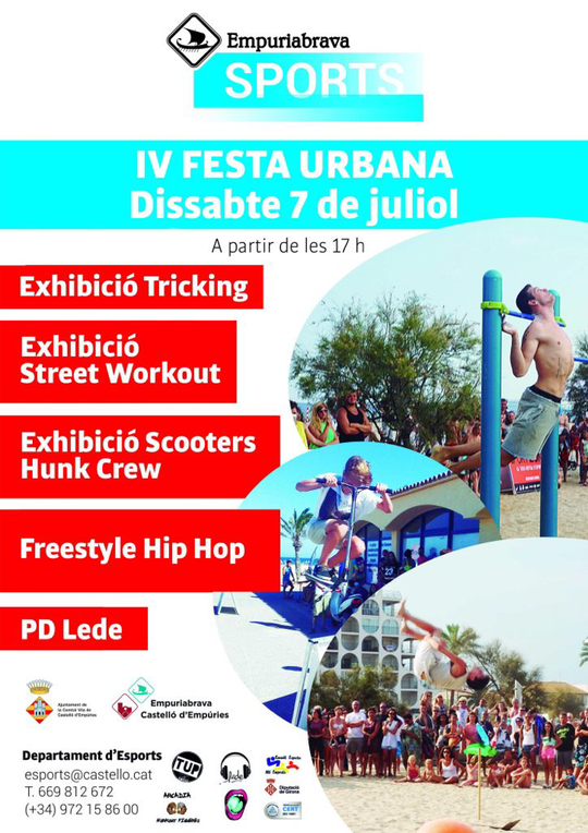 Stadtfest in Empuriabrava am 7. Juli 2018 ab 17 Uhr