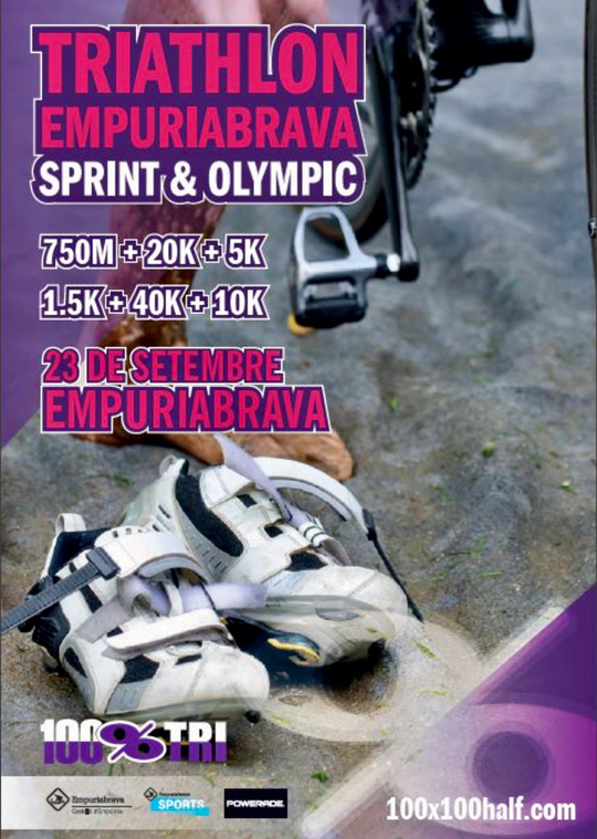 Triathlon in Empuriabrava - 23.9.2018