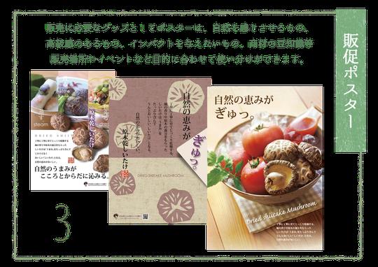 3.販促ポスター
