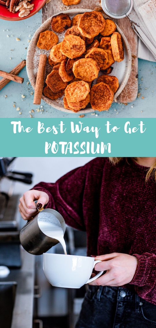 Want a list of potassium rich foods? Suffering from a potassium deficiency? These potassium foods will help. Plus, they're all top blood pressure foods! #potassium #minerals #nutrition #heartmonth #sodium