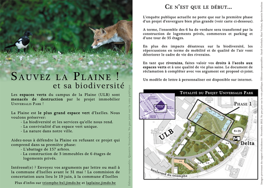 Tract pour la Plaine, version 2013