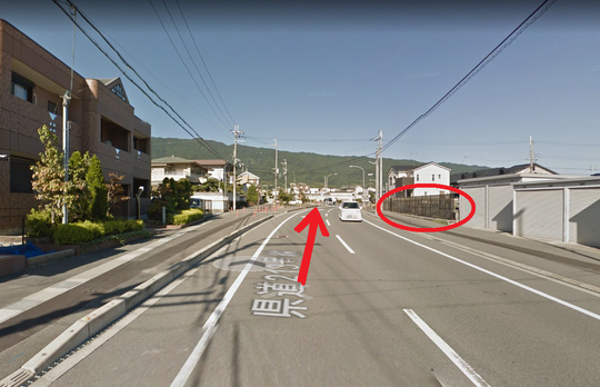 奈良県大和高田市の道路
