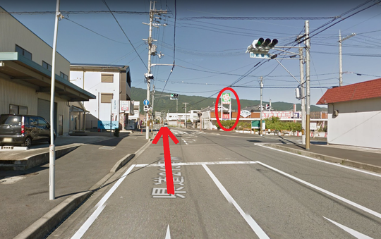 奈良県葛城市の道