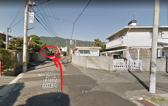 奈良県香芝市の道路