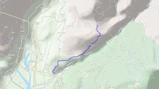 DA ALTOGGIO A PONTETTO  distanza 3,5 chilometri dislivello 40 metri