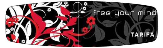 free your mind flowers - red