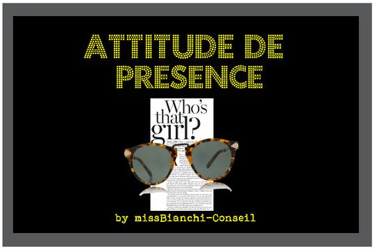 Attitude de Présence
