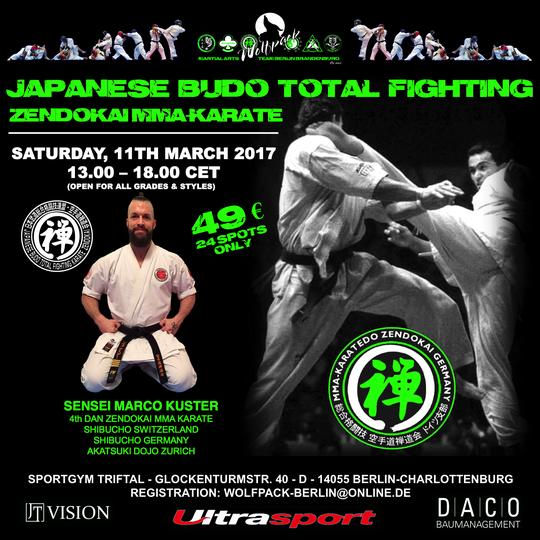 Akatsuki Zendokai Karate MMA Marco Kuster Berlin