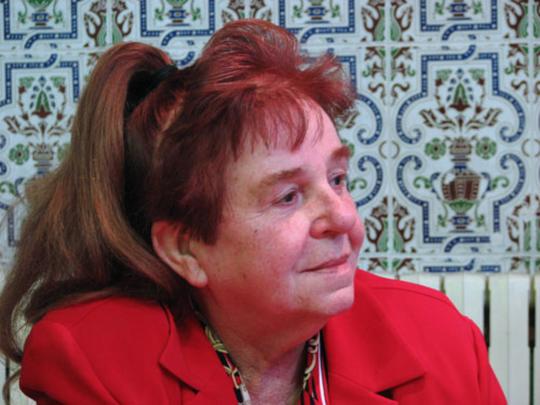 Bettina Heinen-Ayech in Guelma, 2009