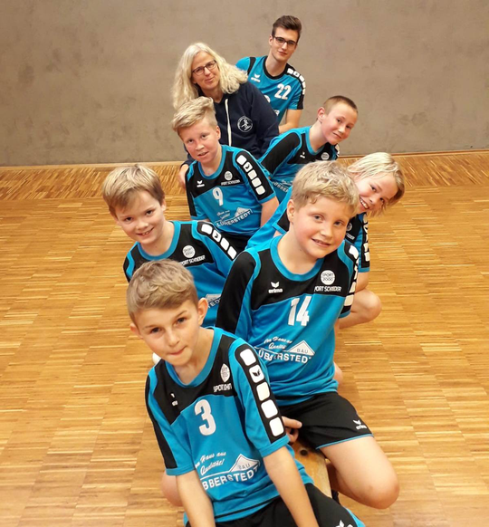 männliche E-Jugend - Saison 2017/18 - Jahrgang 2007/08