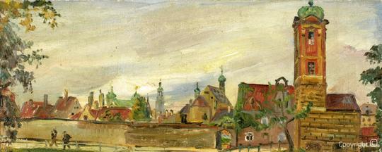 Erwin Bowien ( 1899-1972): Catalog of works N ° 170 - Augsburg, 1943