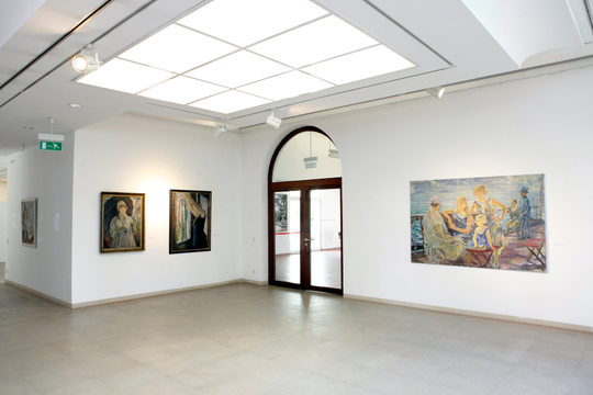 Retrospective by Erwin Bowien at the Kunstmuseum Solingen, 2014