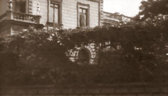 Historisches Foto: Die Villa Neufeldt in Elbing um 1904