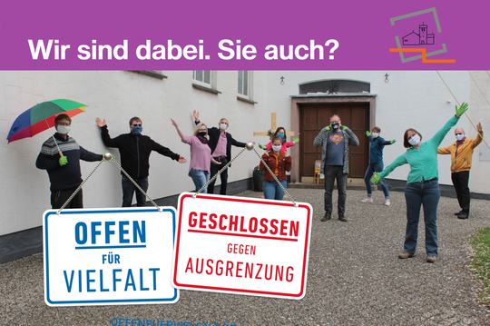Foto und Gestaltung: Sylvia Ehrhoff-Bering, digitales Türschild: offenfuervielfalt.de