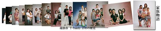 一年一度の家族写真